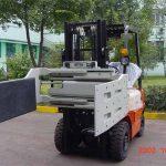 Cina Truk Forklift Hidrolik Efisien Multi-purpose Clamp