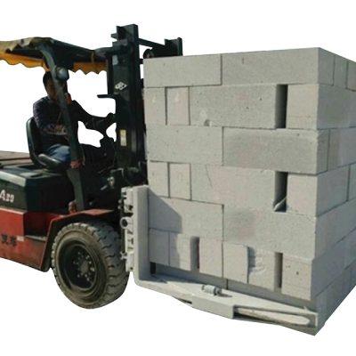 Batu Bata Beton Forklift Hidrolik Blok Lifting Clamp