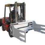 Fork Truck Rotating Bale Clamps Dengan Forklift