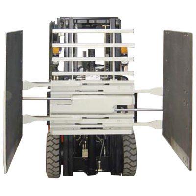 Forklift Attachment Carton Clamp Class 3 & 1220 * 1420 mm Ukuran Lengan