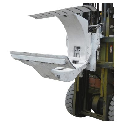 3 Ton Truk Forklift Diesel dengan Lampiran Klem Gulungan Kertas