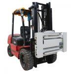 Klem tanpa lengan Sideshifting untuk Forklift