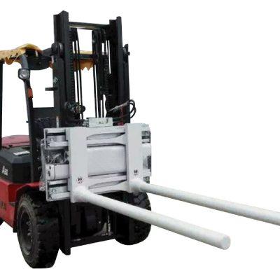 Side Shifting Bar Arm Klem Dengan Forklift