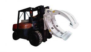 Peralatan Penanganan Material Forklift Paper Roll Clamp