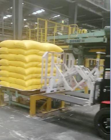 Forklif Tarik Dorong Forklift Digunakan Dalam Menangani Pupuk